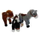 wholesale Dolls &Plush: Plush toy horse with bridle 24cm