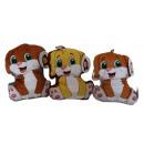 wholesale Dolls &Plush:Plush dog charm 15cm