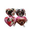 wholesale Dolls &Plush: Plush heart Pillows Dog love