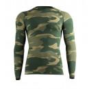 Hőfunkciós férfi ing Camouflage - zöld