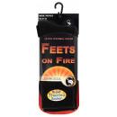Thermo Socken FEETS on FIRE, Herren - schwarz