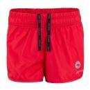 Női sportnadrág, rövidnadrág - piros