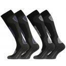 Ski & Snowboard Socken, Spezialpolsterung, 2 Paar
