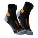 Quarter running & functional socks black / ora