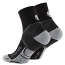 Quarter Sport-Socken, Performance - schwarz