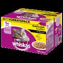 wholesale Pet supplies: Whiskas mp 1 + poultry selection, 24x100g