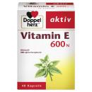 Doppelherz e -vitamin 600 n, 40 db -os csomag