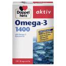Dupla szív omega-3 1400 30 kps, 59,2 g