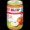 Hipp pfirsiche 4m, 250g Glas