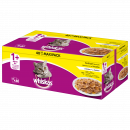 wholesale Pet supplies: Whiskas poultry selection jelly, 40x100g