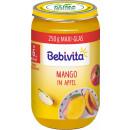 grossiste Aliments et boissons: Bebivita mangue en pomme 6m, verre 250g