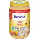 grossiste Aliments et boissons: Poire Bebivita à la pomme 5 m, verre 250g