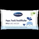 Bübchen aqua touch nedves törlőkendő, 3x48 csomag