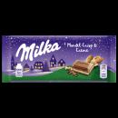Milka almond crisp & creme, 90g
