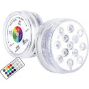 wholesale Consumer Electronics: 13 LED RGB lamp with a remote control, waterproof