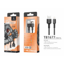 Usb Cable For Ip 7/8 / Xs / 11 2.4A 1M Black