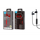 Red Sports Bluetooth Headsets