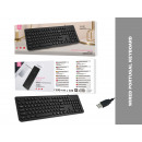 Tk1267 Keyboard With Black Language Language
