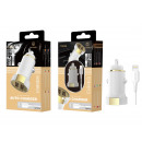 Car Charger With Ip Cable 6/7/8 / X / Xs 2.4A 1M 2