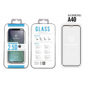 Tempered Glass Film Sa A40 2.5D Fullcover Black