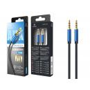 Audio Cable Tpe 1M 3.5Mm Blue