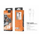 Usb Cable For Ip 7/8 / Xs / 11 2.4A 1.5M White
