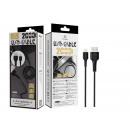 USB-Kabel für IP 6/7/8 / X / Xs 2M 2A Schwarz