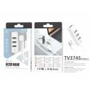 USB 2.0 Hub 4 Türen Weiß