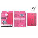 wholesale Notebooks & Tablets: Universal Tablet Cover 9 Inches Pink