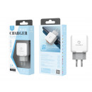 Charger Without Cable 2.4A 2Usb White