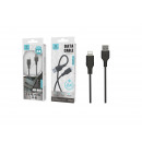 USB-Kabel für IP 6/7/8 / X / Xs Pvc 2A 1M Schwarz
