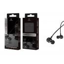 Headsets mit Mikrofonkabel schwarz