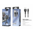 Cable Micro Usb 3M 2A Black