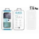 Edzett üveg fólia Ip 7/8 Plus 2.5D Fullcover Whi