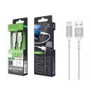 USB-Kabel für IP 6/7/8 / X / Xs 2A 1M Silber