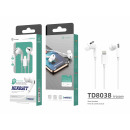 wholesale Telephone: Earphones 3Geracao White Lightning Bts