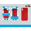 Silicone Tpu Case Iphone 6S Plus Red