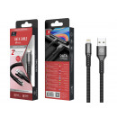 Usb Cable For Ip 6/7/8 / X / Xs 2A 1M Black