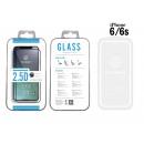 Edzett üveg fólia Ip 6 / 6S 2.5D Fullcover Fehér