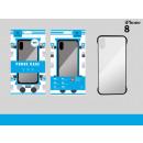 Ip 8 Black Ultra-Thin Frame Cover