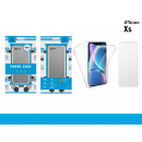 Total Protection Cover Pc + Tpu Iphone Xs Transpar