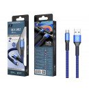 Micro Usb Cable 2A 1M Blue