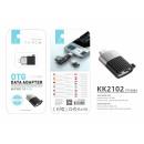 nagyker Computer és telekommunikáció: Adapter Otg Micro - USB fekete