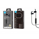 Sporty Bluetooth Headsets Black