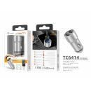 Car Charger 2Usb 2.4Asilver