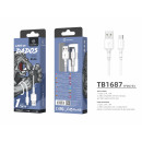 Micro Usb Cable 2.4A 1.5M White