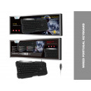 Tk1266 Keyboard With Black Language-Portuguese Wir