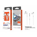 wholesale Telephone: Earphones 3Geracao White 3;5 mm
