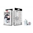 Car Charger Without Cable 2.1A 2Usb White