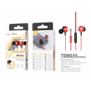 wholesale Headphones:Headset 3.5Mm Red
